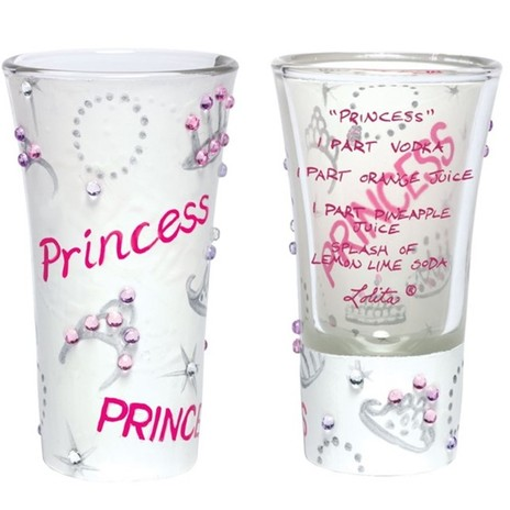 Lolita Princess Shot Glass