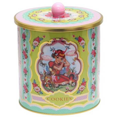 Cotton Candy Cookie Tin, Wu & Wu