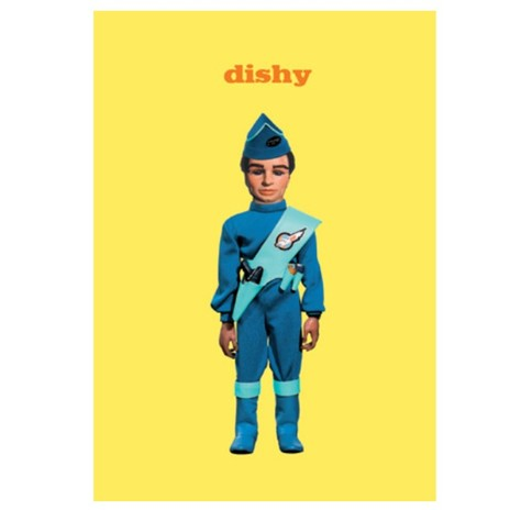 Thunderbirds Dishy Card