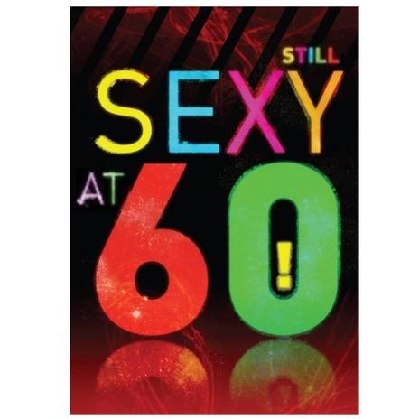 Sexy at 60 Card
