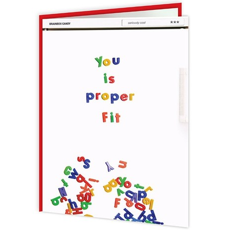 You is Proper Fit Card