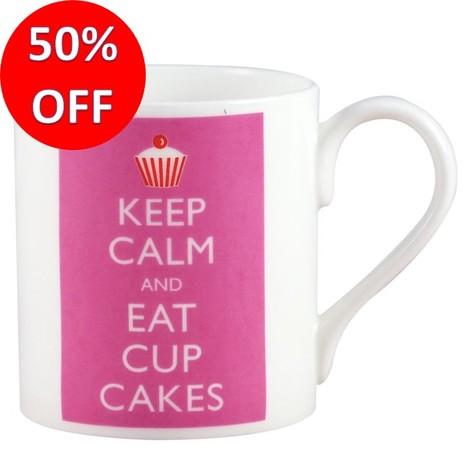 Keep Calm & Eat Cupcakes Mug