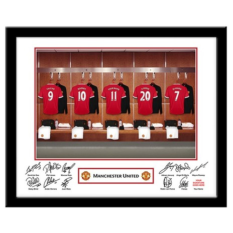 Personalised Manchester United Frame