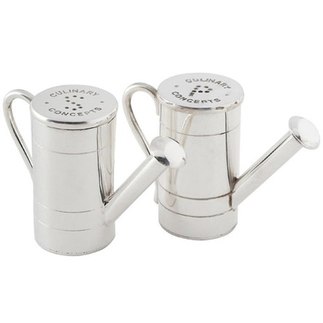 Watering can Salt & Pepper set, Culinary Concepts