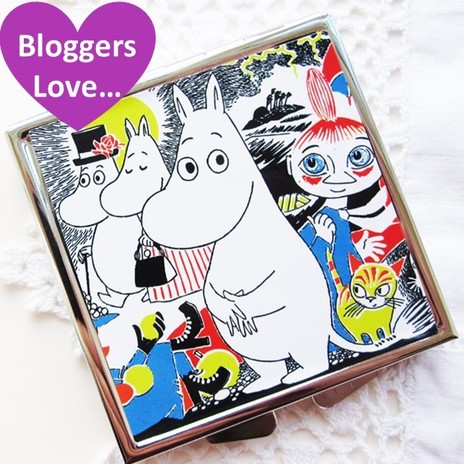 Moomin Compact Mirror, Disaster Designs