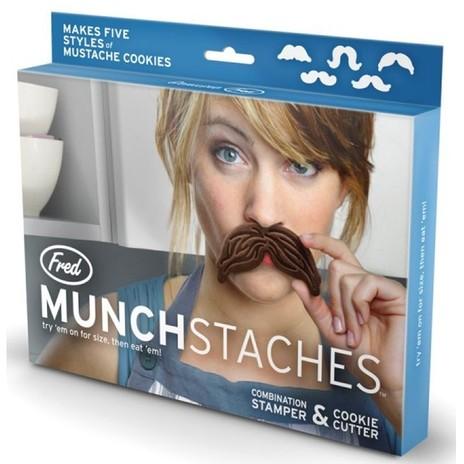 Munchstache Cookie Cutters