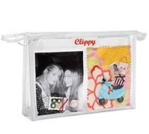 Click to enlarge - Clear ClippyKit Make up Bag