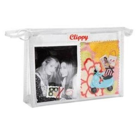 Clear ClippyKit Make up Bag