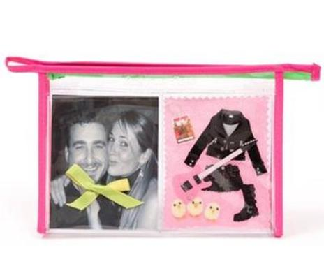 Pink Make up ClippyKit Bag