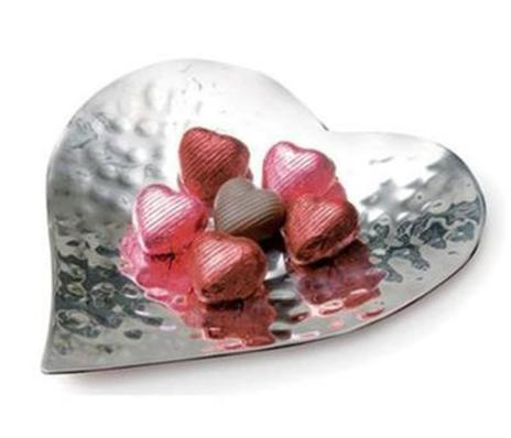 Hammered Heart Dish Extra Small, Culinary Concepts