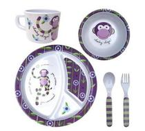 Click to enlarge - Cheeky Monkey Dinner Set