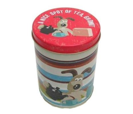 Wallace and Gromit Tea Caddy