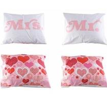 Click to enlarge - Mr & Mrs Pillow Cases
