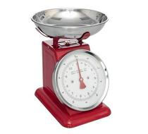 Click to enlarge - Red Kitchen Scales