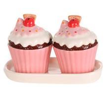 Click to enlarge - Cupcake Salt & Pepper Shaker