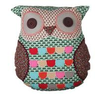 Click to enlarge - Green Owl Cushion