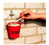 Click to enlarge - Fire Bucket Ashtray