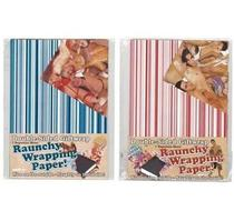 Click to enlarge - Raunchy Wrapping Paper
