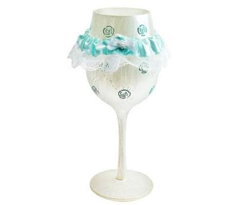 Lolita Something Blue Wine Glass