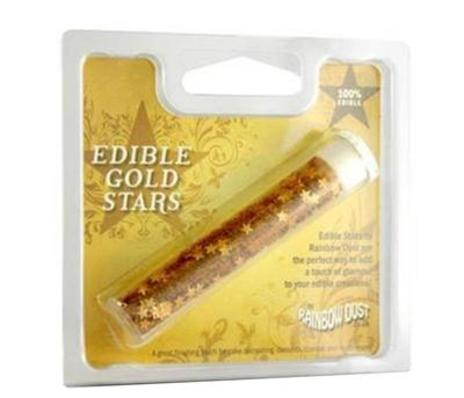 Edible Glitter Stars Gold