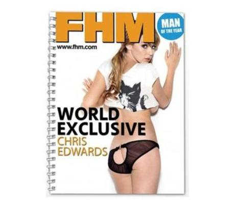 Personalised Notepad Magazine Men