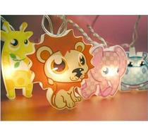 Click to enlarge - Safari Animals, Childrens String Lights