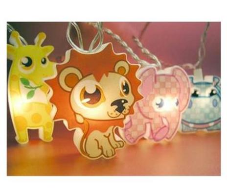 Safari Animals, Childrens String Lights