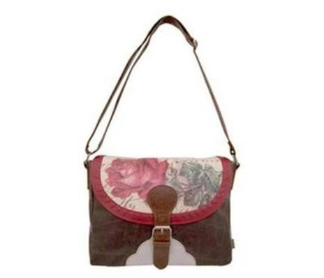 Vintage Satchel Rose