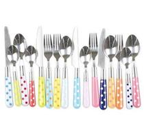 Click to enlarge - Polka Dot Cutlery Set