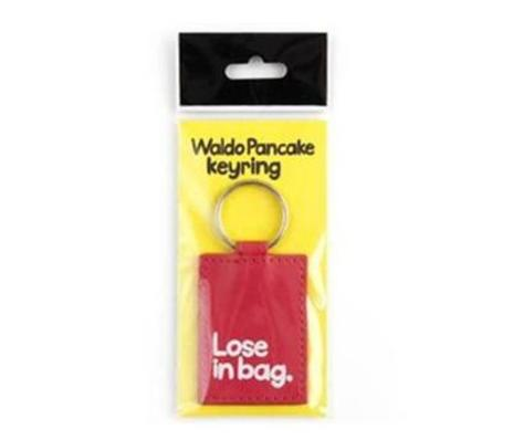 Waldo Pancake Keyring, Lose in Bag