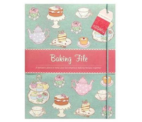 Baking Recipe File
