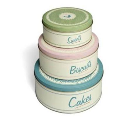 Vintage 3 Cake Tins