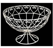 Click to enlarge - Sweetheart Wire Fruit Bowl