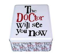 Click to enlarge - The Doctor will see you now Tin