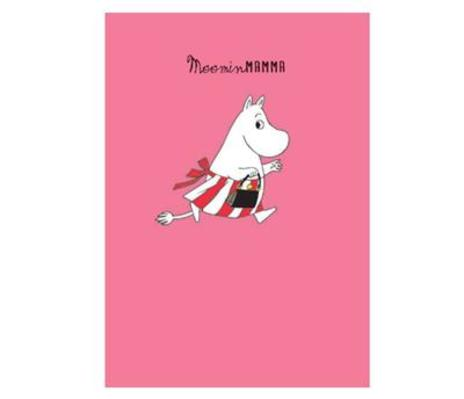 Moomin Mamma Running Card