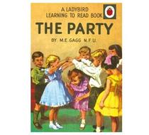 Click to enlarge - The Party Ladybird Card