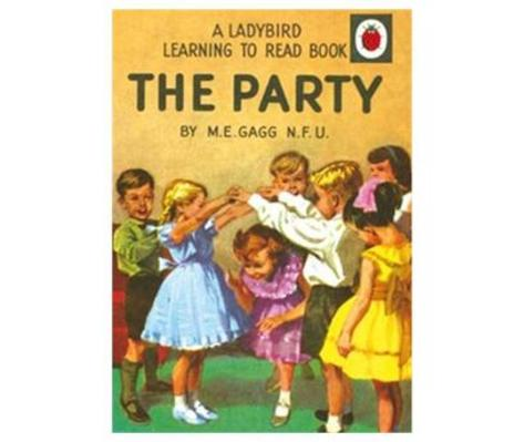 The Party Ladybird Card