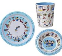 Click to enlarge - Tyrrell Katz Pirates Plate Bowl and Beaker