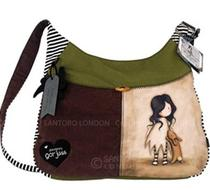 Click to enlarge - Gorjuss I Love You Little Rabbit Slouch Bag