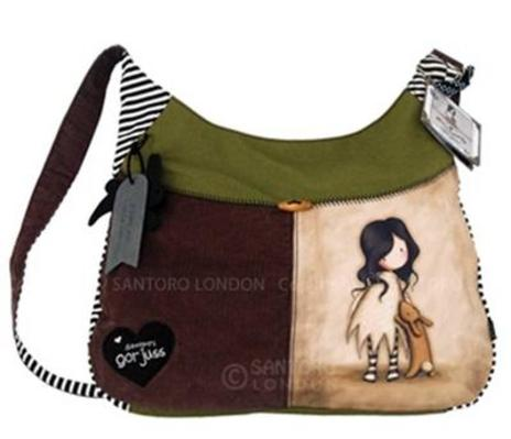 Gorjuss I Love You Little Rabbit Slouch Bag