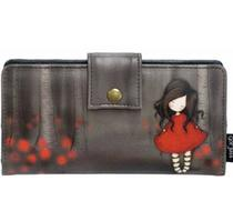 Click to enlarge - Gorjuss Poppy Wood Wallet