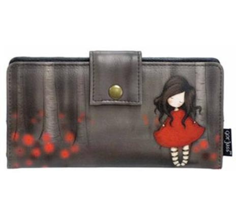 Gorjuss Poppy Wood Wallet