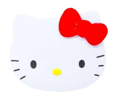 Hello Kitty Compact Mirror and Comb