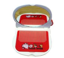 Click to enlarge - Hello Kitty Compact Mirror and Comb