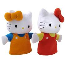 Click to enlarge - Hello Kitty Hand Puppet Set