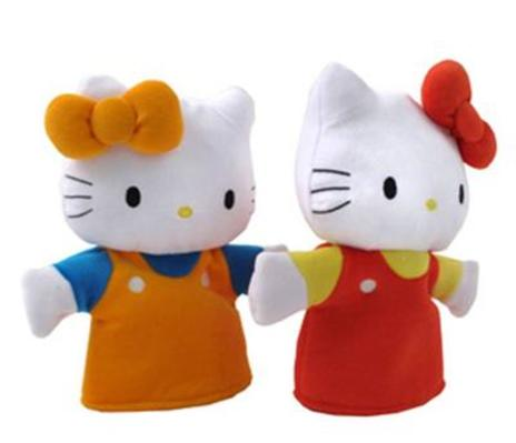 Hello Kitty Hand Puppet Set