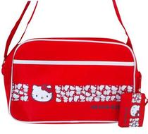 Click to enlarge - Hello Kitty Red Sports Bag