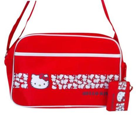 Hello Kitty Red Sports Bag