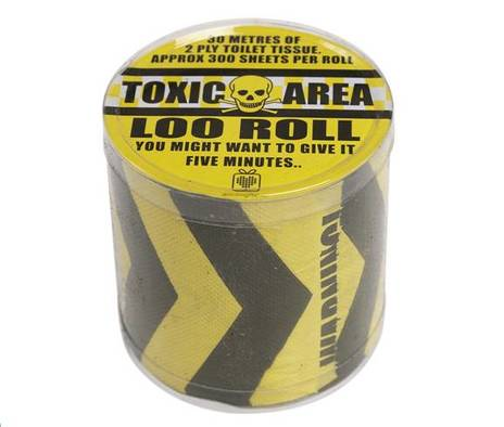 Toxic Area Toilet Roll