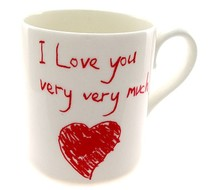 Click to enlarge - I Love you very very much Mug